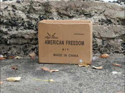 Американская свобода, он оказывается, не из США...