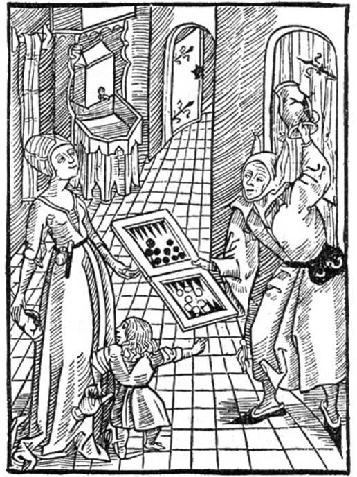 Нарды в Средневековье