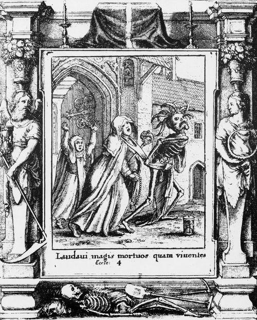 Изгание смерти в Средневековье