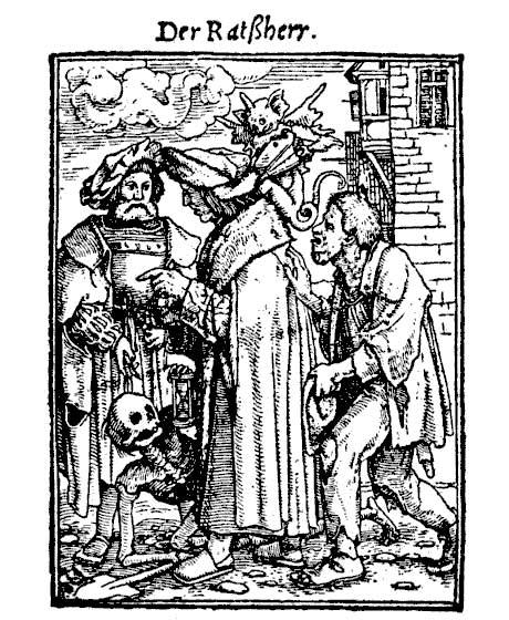 Чиновник в Средневековье