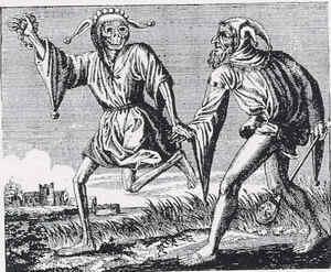 Средние Века. Шут и его смерть.
