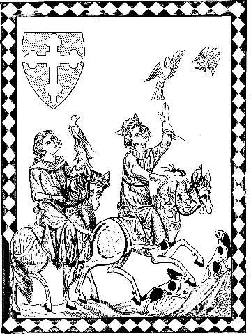 Соколиная охота в Средневековье
