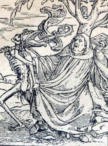 Смерть священника в Средневековье