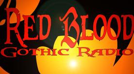 Логотип Red Blood Gothic Radio