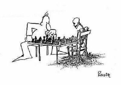 Вот такие они - готичные шахматы...