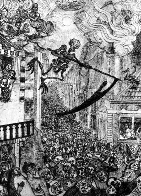 Черная смерть в Средние Века