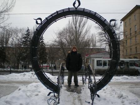 я в Парке кованных фигур (Донецк)