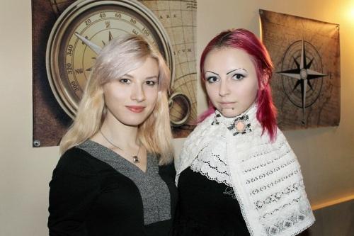 Мирра Васныч и Луиза Морган