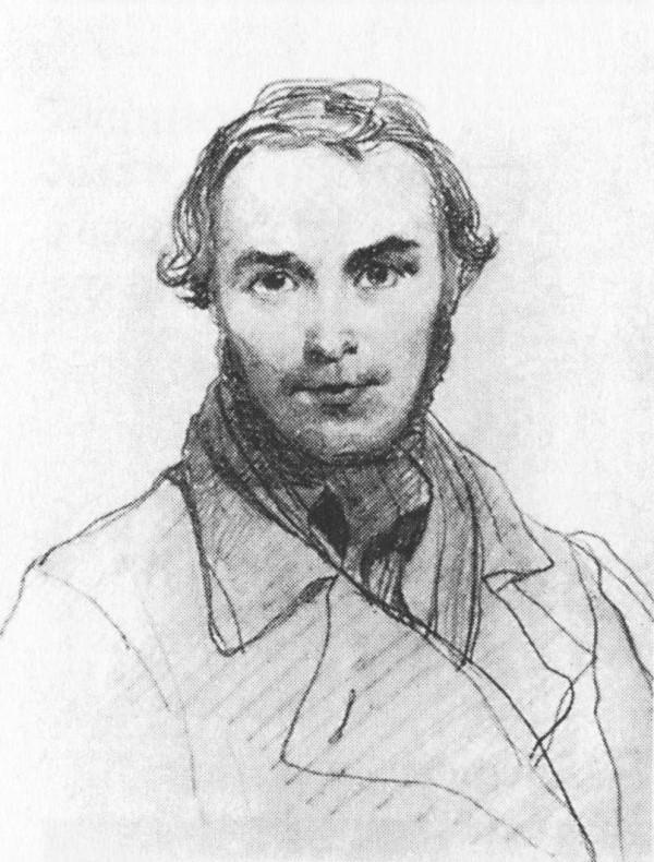 Т.Шевченко. Автопортрет. 1845.