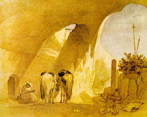 Т.Шевченко. Далисмен-Мула-Аулье. 1851.